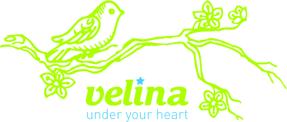 Логотип Velina- Under your heart